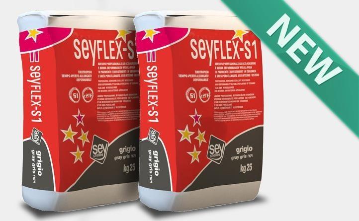 SEYFLEX-S becomes SEYFLEX-S1